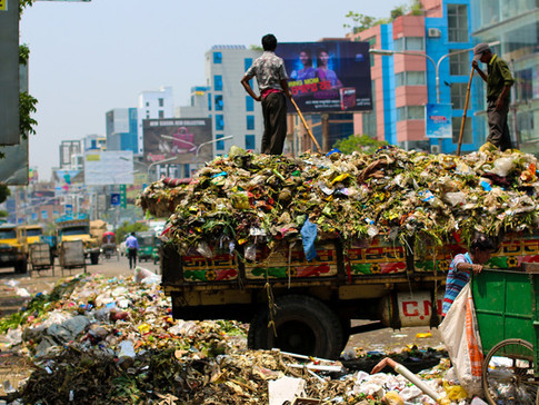 How India Puts Its Plastic Waste To Use