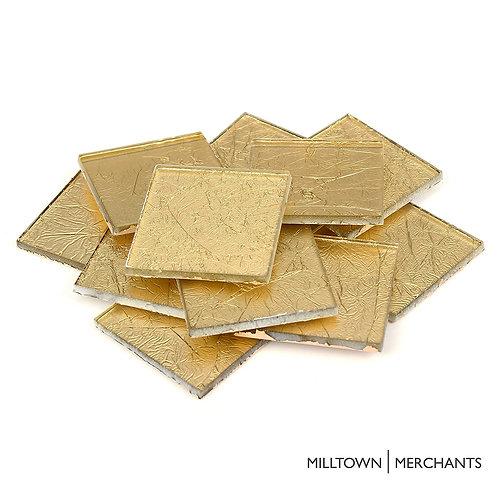 Gold Foil Tile 48mm