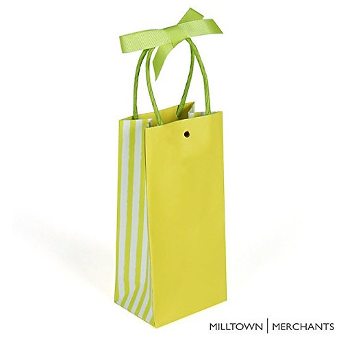 Lime Green Gift Bags 30-pack - Bulk Party Favor Bags