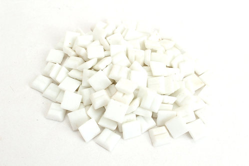 White Mosaic Tile - 4/10 Inch