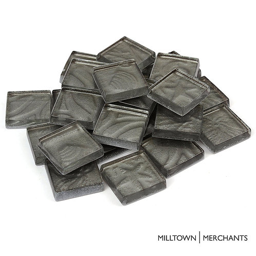 Gray Crystal Impression Tile