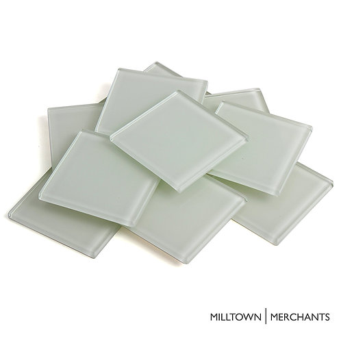 White Crystal Tile 48mm