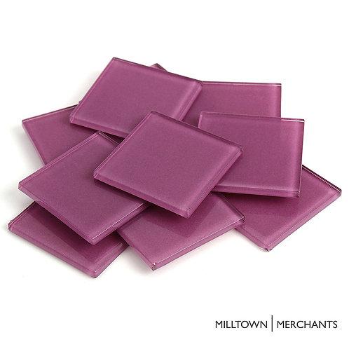 Purple Crystal Tile 48mm