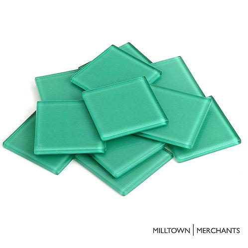 Seagreen Crystal Tile 48mm