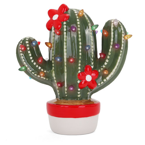 Ceramic Christmas Cactus