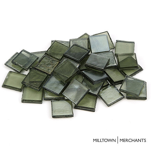 Pine Tree Green Iridescent Tile 22mm