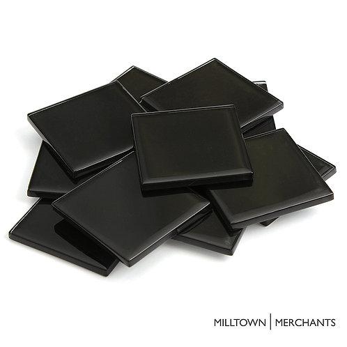 Black Crystal Tile 48mm