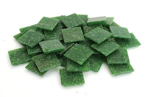 Dark Green Mosaic Tile - 3/4 Inch