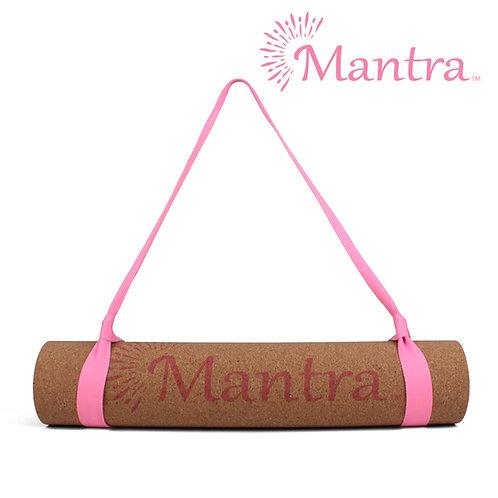 Pink Cork Yoga Mat