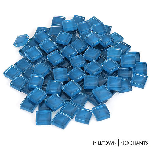 Dark Blue Crystal Mosaic Tile - 4/10 Inch