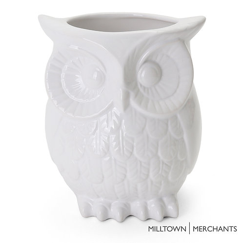 Owl Utensil Holder
