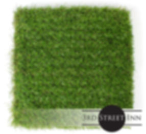 Artificial Grass Tiles Overhed Shot