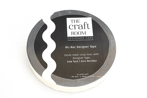 5/8 Inch Ric-Rac Designer Tape - Shape Tape