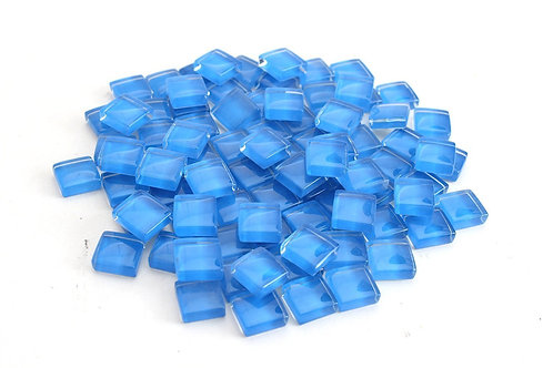 Electric Blue Crystal Mosaic Tile - 4/10 Inch