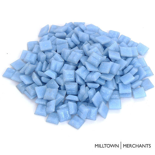 Baby Blue Mosaic Tile - 4/10 Inch