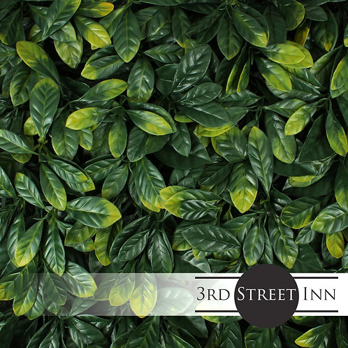Laurel Leaf Artificial Greenery Panels Front View
