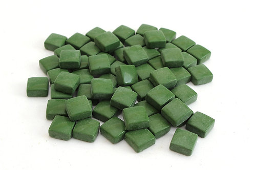 Green Square 12 mm Mosaic Tile