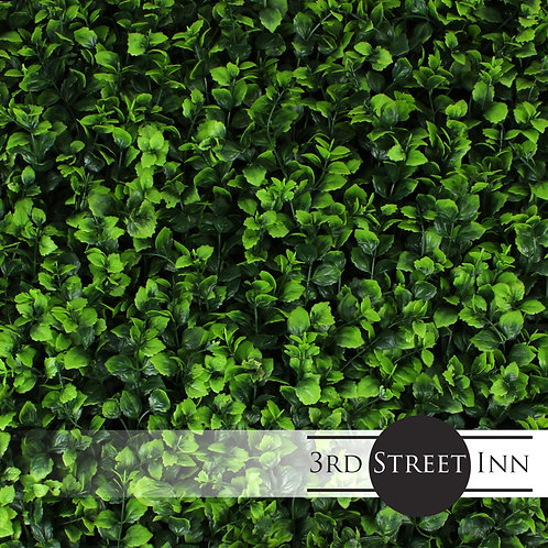 Indian Aster Artificial Greenery Panels Front View