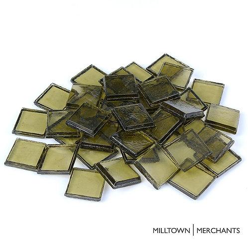 Olive Green Transparent Tile 22mm