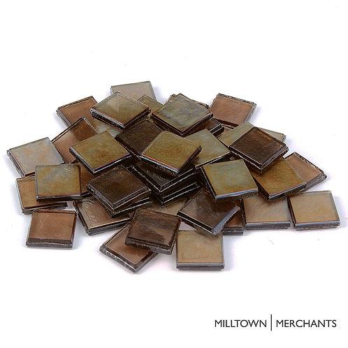 Mocha Iridescent Tile 22mm