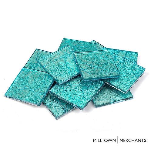 Blue Foil Tile 48mm