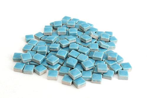 Blue Ceramic Mini Tile - 4/10 Inch