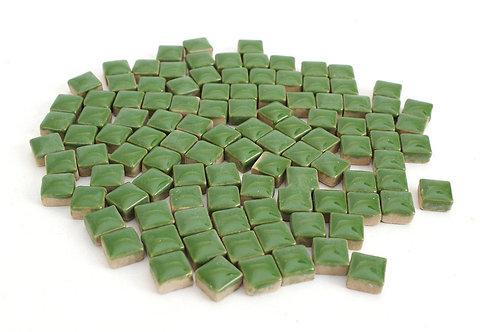 Green Ceramic Mini Tile - 4/10 Inch