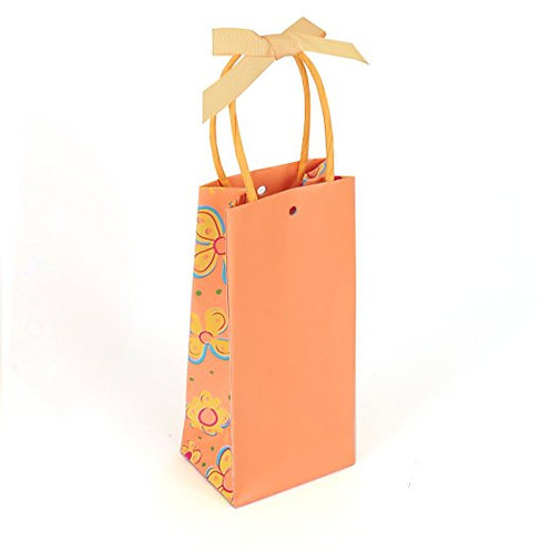 Orange Gift Bags 30-pack - Bulk Party Favor Bags
