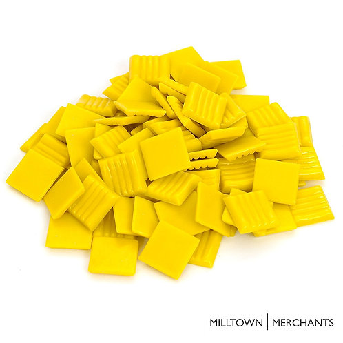 Sunshine Yellow Mosaic Tile - 3/4 Inch