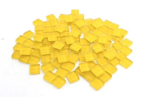 Yellow Crystal Mosaic Tile - 4/10 Inch