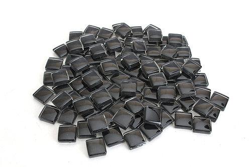 Black Crystal Mosaic Tile - 4/10 Inch