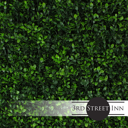 Soft Touch Holly Artificial Greenery Panel Front View