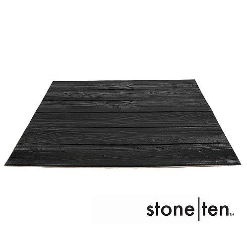 Foam Wood Wall Panels - Black