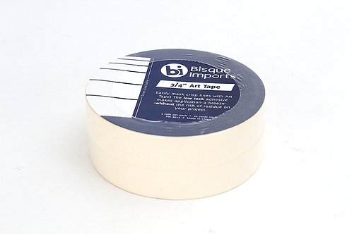 3/4 Inch Art Tape 2 Rolls - Professional Masking Tape