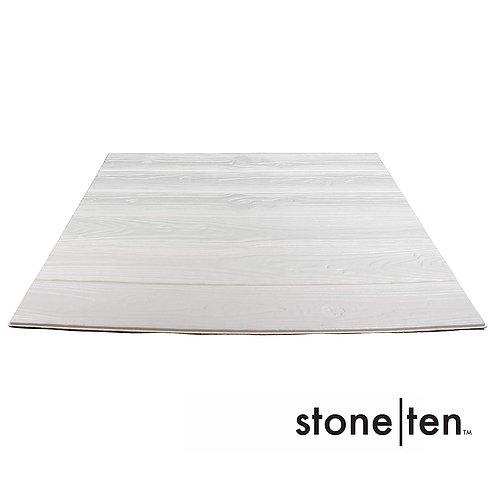 Foam Wood Wall Panels - White