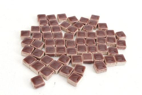 Brown Ceramic Mini Tile - 4/10 Inch