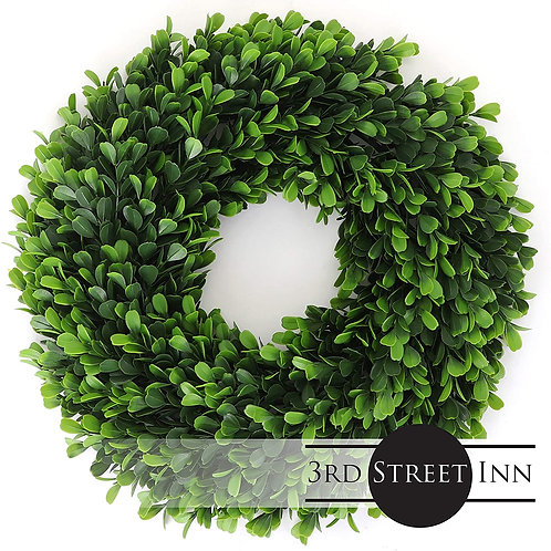 Soft Touch Holly Wreath Medium Front View