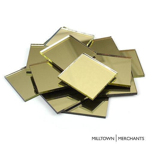 Gold Mirror Tile 20mm