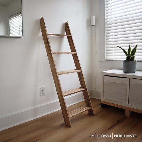 Milltown Merchants Blanket Ladder - Driftwood