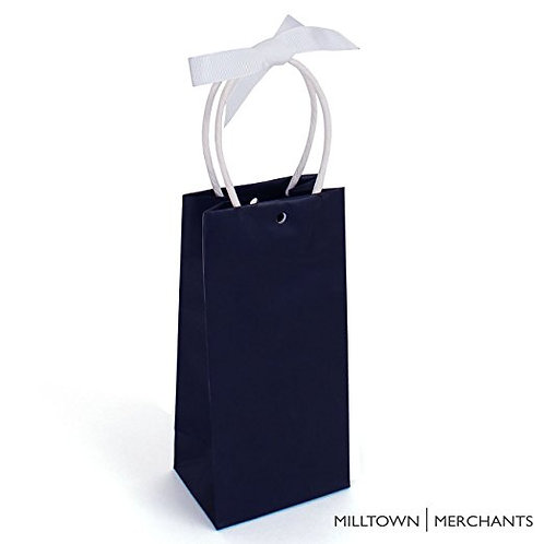 Midnight Blue Gift Bags 30-pack - Bulk Party Favor Bags