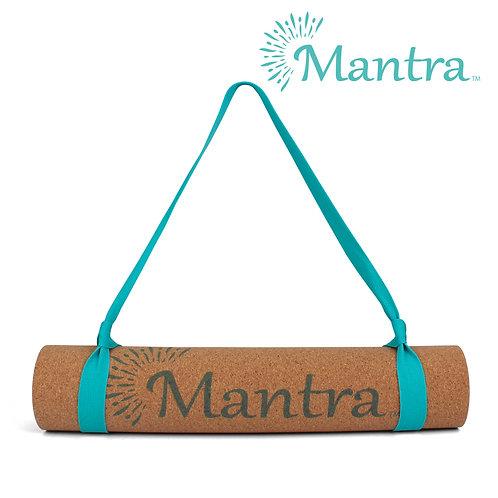 Teal Cork Yoga Mat