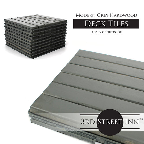 Modern Grey Straight Deck Tiles