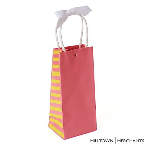 Pink Gift Bags 30-pack - Bulk Party Favor Bags