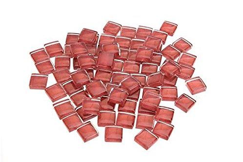 Dark Red Crystal Mosaic Tile - 4/10 Inch