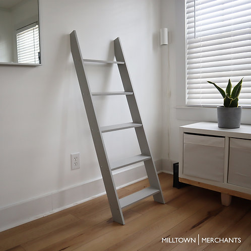Milltown Merchants Blanket Ladder - Grey