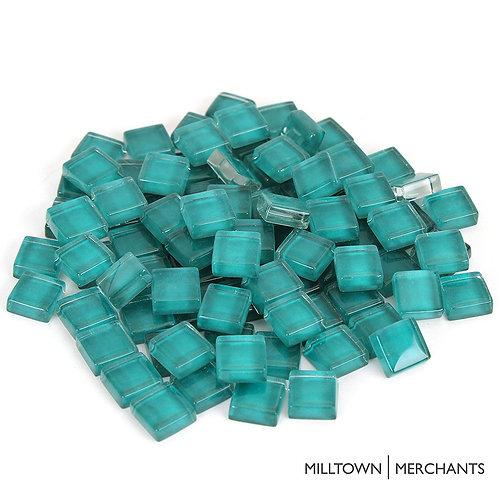 Seafoam Crystal Mosaic Tile - 4/10 Inch