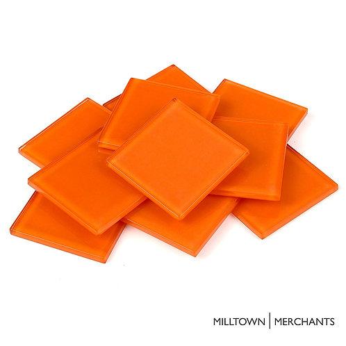 Orange Crystal Tile 48mm