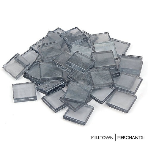 Light Gray Iridescent Tile 22mm