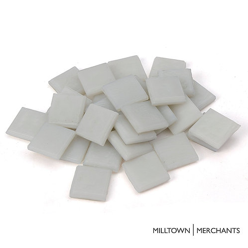 White Glass Tile 22mm