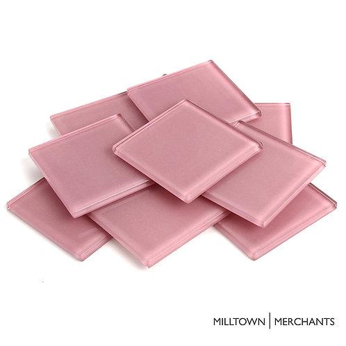 Baby Pink Crystal Tile 48mm